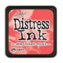 Tim Holtz® Distress Mini Ink Pad from Ranger - Abandoned Coral